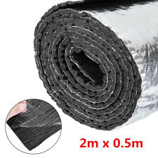 10mm Car Under Hood Mat Fire Heat Insulation Soundproofing Glass Fiber adhesive