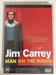 Man On The Moon - DVD 2000 - Jim Carrey - Danny De Vito - Courtney Love - M15+