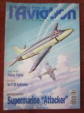 FANA 273 FOKKER TRIPLAN P-38 SUPERMARINE ATTACKER AVRO ARROW AVION IGN ELECTRA