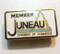 Juneau, Alaska Chamber of Commerce, ALASKA Enamel Member Pin