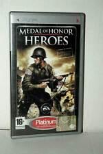 MEDAL OF HONOR HEROES USATO OTTIMO SONY PSP EDIZIONE ITALIANA PLATINUM FC3 45031