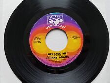 """JOHNNY ADAMS - Release Me / You Make a New Man Out of Me 1968 SOUL FUNK 7"""""""