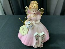"A Josef Original Collectible Angel ~ ""The Eleventh Year"" w/Tag ~ 5 1/2"" Tall"