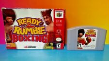 Ready 2 Rumble Boxing  Nintendo 64 N64 Cart Tested Authentic w/ Box 1-2 Players