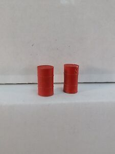 Arttista #1272 -  Two (2) 30 Gallon Drums - O SCALE Figures & Details - NEW