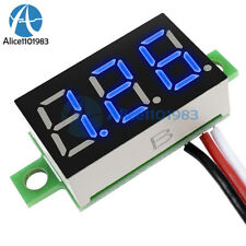 5PCS DC 0-30V 3 Wires 0.36 inch LED Panel Voltage Meter 3Digit Display Voltmeter