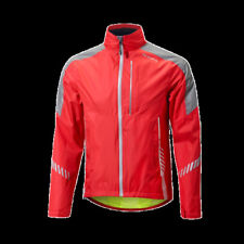 Giubbini da ciclismo rossi alta visibilità