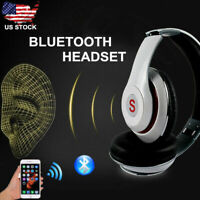 Wireless Bluetooth Foldable Headset Stereo Earphone for iPhone Samsung US Stock
