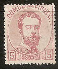 1872 EDIFIL 118* NUEVO GOMA ORIGINAL
