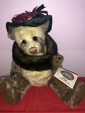"Ganz Cottage Collectibles Bear ""Auntie Pam"" Limited Edition 480/3000 12"""