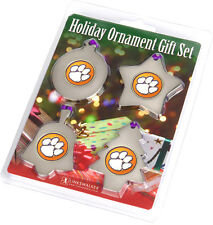 Clemson Tigers Ornament Gift Pack
