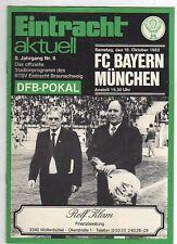 PRG   DFB Pokal  82/83     E.BRAUNSCHWEIG - BAY.MÜNCHEN
