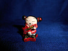 PUCCA Star Base STAR GUITAR PUNK LOVE Miniature Figurine French Porcelain FEVES