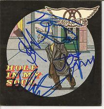 Aerosmith Autograph Group Signed CD Single