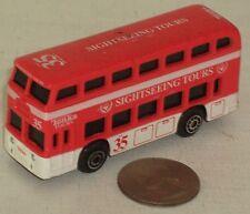 "Tonka No. 35 Sightseeing Tours Doubledecker Bus 3"" NICE"
