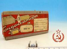 10x Military 60's Soviet Capacitor 1500pF 400V 10% Kbg-i PiO Paper + Oil Kbg