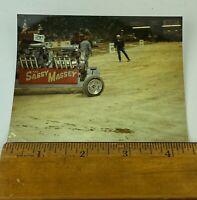 "Vintage Photo Snapshot Monster Truck Stadium Show 1987 3-1/2"" X 4-1/2"""
