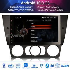 """DAB+Car Stereo for BMW 3 Series E90 E91 E92 E93 Sat Nav 9""""Android 10.0 Carplay"""