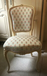 VINTAGE FRENCH LOUIS XV STYLE ARMCHAIR