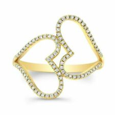 14k Yellow Gold Round Cut CZ 1.5ct Engagement Ring