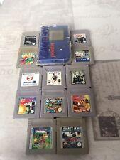 Lote Game Boy con Juegos