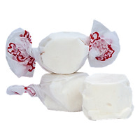 GOURMET VANILLA Salt Water Taffy Candy TAFFY TOWN 1/4 LB  to 10 LB BAG