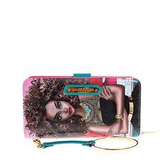PRT6700 Nicole Lee Wallet Wristlet Strap With Bracelet SUPER-ROXANA