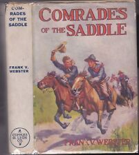 WEBSTER-COMRADES OF THE SADDLE      -DUST JACKET