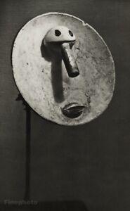 1949 Brassai Original Photo Gravure Of Pablo Picasso 1931 Plaster Sculpture Art