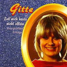 CD - Gitte - Laß' Mich Heute Nicht Allein - Größte Erfolge - #A1019