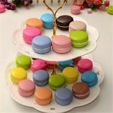 Artificial fake cakes for display wedding foam real cute colorful Macaroon round