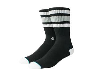 Stance Classic Crew Boyd 4 Black/White/Grey Men's Socks M556A18BOY-BLK