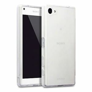 Silicone Slim TPU Gel Back Case Cover Clear For Sony Xperia Z5 Compact