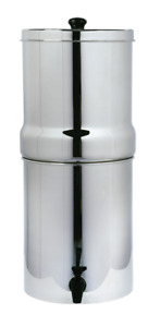 AquaHouse Stainless Steel Gravity Water Filter System (8L) Fluoride water filter