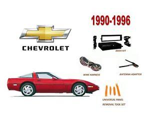 90 91 Corvette C4 Center Radio Dash Bezel Trim Surround NEW 1990 1991