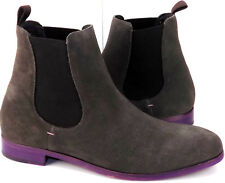 Soul 36 Fairmont Gray Chelsea Suede Ankle High Gore Pull On Boots Men's Size 11M