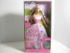 BARBIE ROSE PRINCESS DOLL NEW COLLECTIBLE HAIR AND GOWN TRANSFORM AND HAIR CLIPS