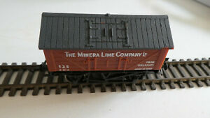 Model Railway 00 Hornby Minera Lime wagon van Rolling Stock R.211