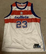 Michael Jordan Washington Bullets Wizards Reebok Hardwood Classics Jersey 2XL