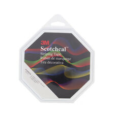 "3M 72602 Scotchcal Black Automotive Striping Tape - 1/4"" x 150'"