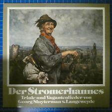 Der Stromerhannes Trink und Vagantenlieder Georg Sluyterman v.Lange JA30310LP135