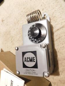 Sunne Controls Acme  Heat Cool  Line Voltage Thermostat TF115 SPDT Rain tight