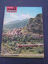vie du rail 1963 886 ANTHON VEYNES SISTERON VOLONNE SERRES GARDANNE CHAVANOZ
