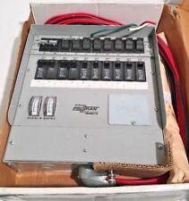NEW Reliance Protran Q510C Generator Manual Transfer Switch 12500 Watt 100A/50A