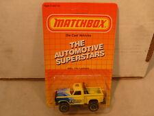 1987 MATCHBOX SUPERFAST MB53 F150 FORD FLARESIDE PICKUP NEW MOC