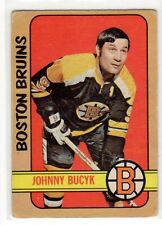 1X JOHNNY BUCYK 1972 73 O Pee Chee #1 VG- Boston Bruins OPC Lots Available