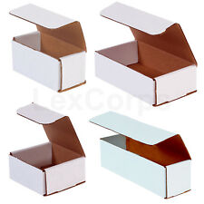 White Corrugated Mailers Many Sizes 50 100 200 Shipping Boxes