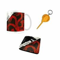 Game of Thrones Stark and Targaryen Mug Keyring and Coaster Gift Set - Boxed