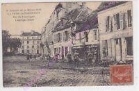 CPA 02130 LA FERE EN TARDENOIS Rue de Loupiègne bataille commerces ruines ca1918