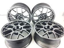 08-15 Mitsubishi Evolution Evo X  MR OEM BBS Wheel Rim 18x8.5 +38 Full Set Reman